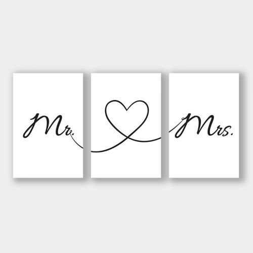 poster mr & mrs