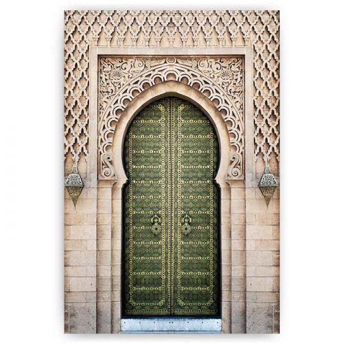 poster arabische poort deur