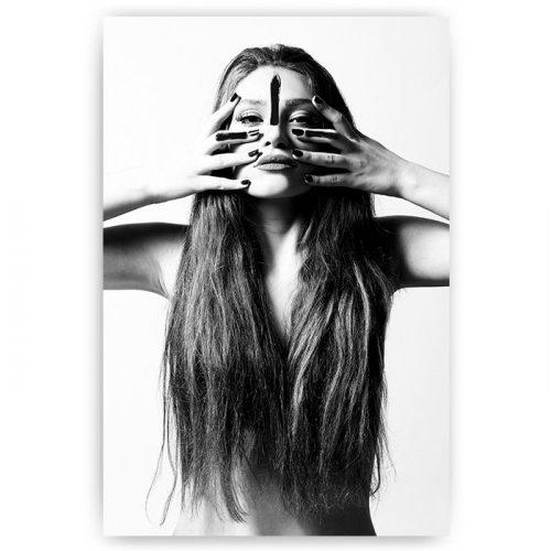 poster native woman