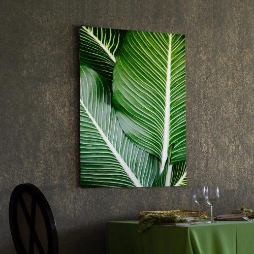 poster groene bladeren