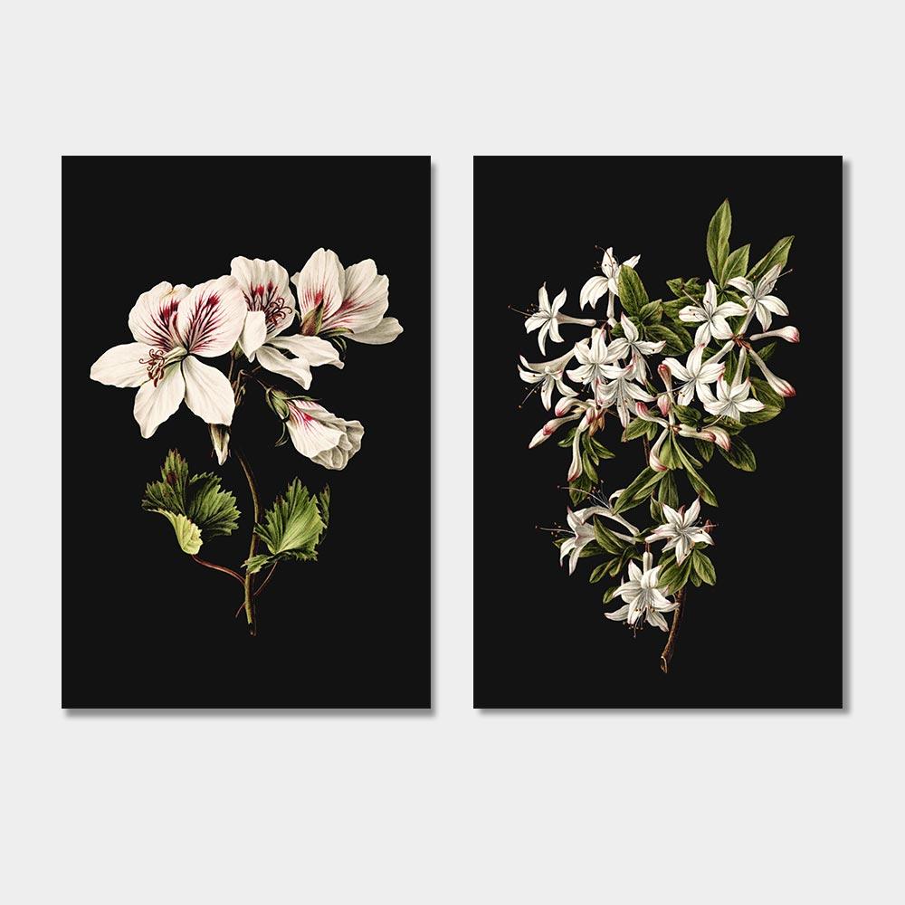 klassieke bloemen schilderijen