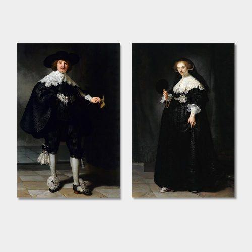 schilderij rembrandt marten oopjen